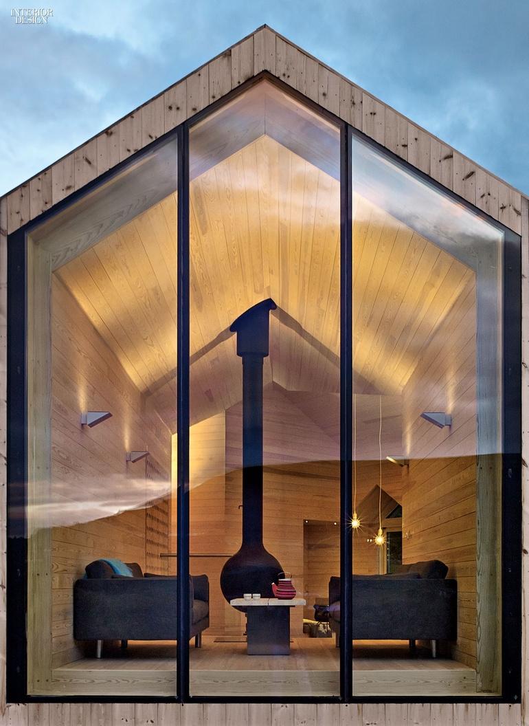 Interiores de caba as de campo nort design by n ria coll for Diseno de interiores de cabanas